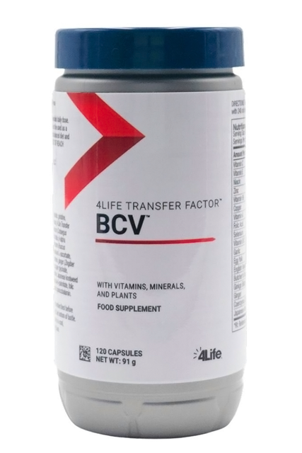 4Life Transfer Factor™ BCV™  (120 kaps.) - Suplement diety 4Life Research, USA
